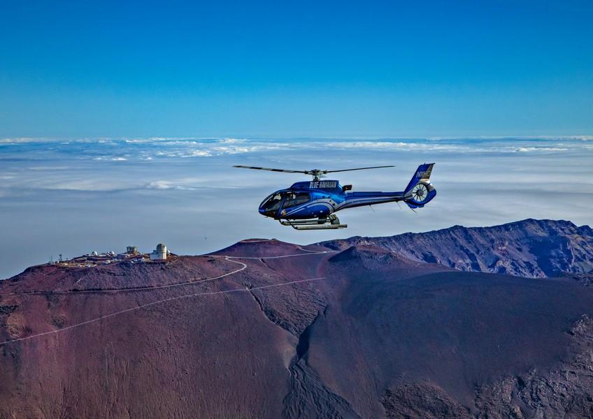 블루하와이안 헬리콥터 - 마우이 하나 할레아 칼라 (45분코스)
