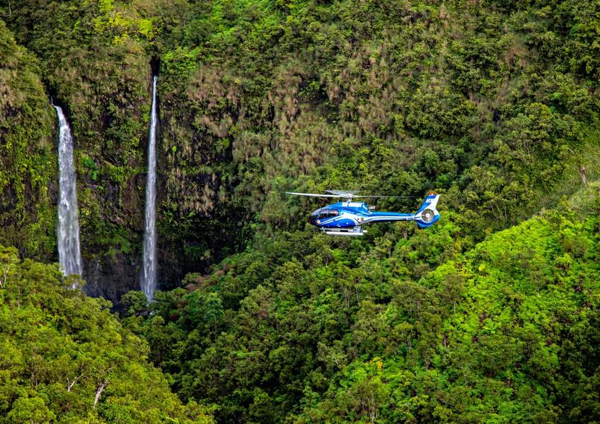 블루하와이안 헬리콥터 - 카우아이 헬리콥터 투어 (50분코스)