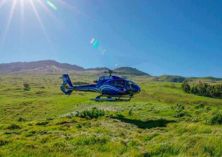 블루하와이안 헬리콥터 - 마우이 스펙타큘러 (단독 착륙, 90분코스)