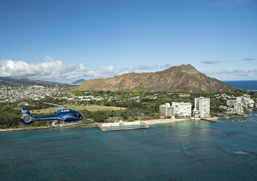 블루하와이안 헬리콥터 - 블루 스카이 오브 오아후 헬리콥터 투어 (45분코스)