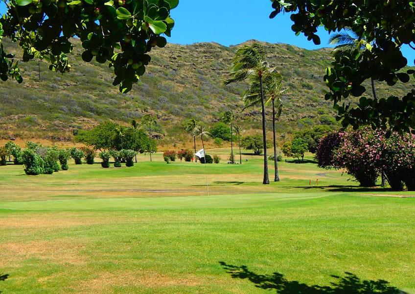 하와이카이 챔피언 쉽 골프 코스