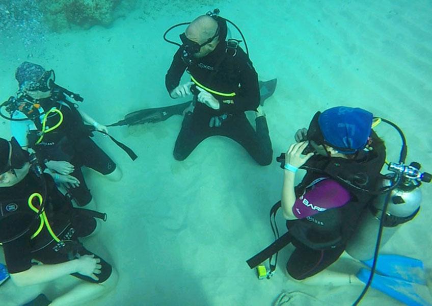 PADI  나이트록스 다이빙 (엔리치드 에어 다이버) (오픈워터 자격증 소지자)