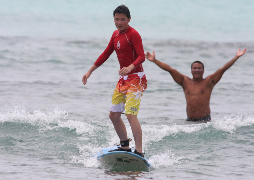 한스 히드만 서핑 스쿨 - 2시간 프라이빗 서핑 레슨