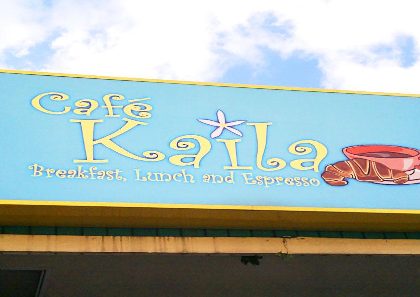 カフェ・カイラ+オアフ島一周観光とヒーリングツアー