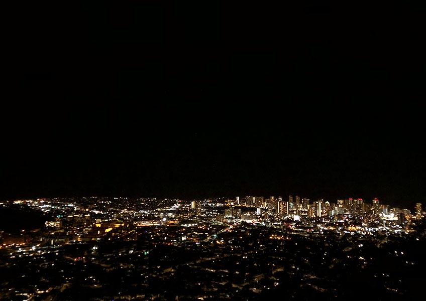 焼肉食べ放題+タンタラスの夜景