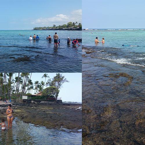 여왕의 비치 - 카할루우 비치 (Kahalu'u Beach)