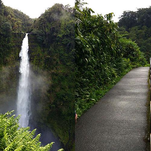 아카카폭포 (Akaka Falls)