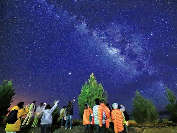 満天の星空観測