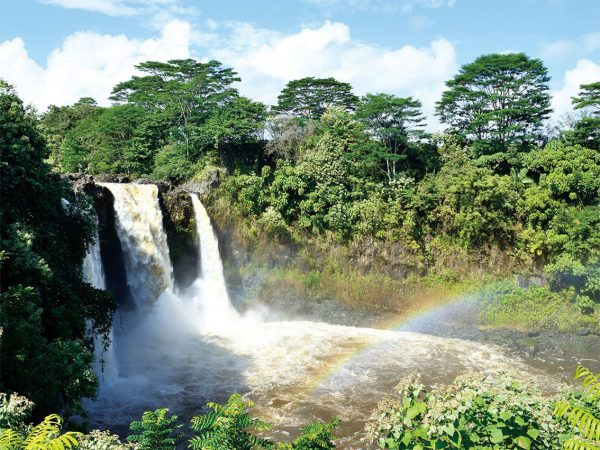 虹の滝「レインボーフォールズ」