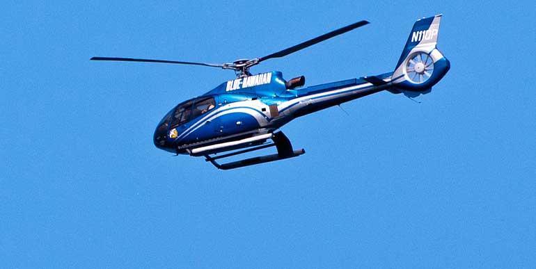 카우아이 블루하와이안 헬기 투어