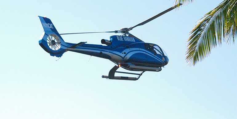 빅아일랜드 블루하와이안 헬기 투어
