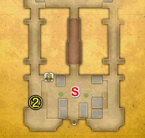フォルセナ城マップ