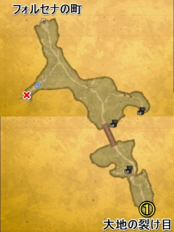 モールベアの高原マップ