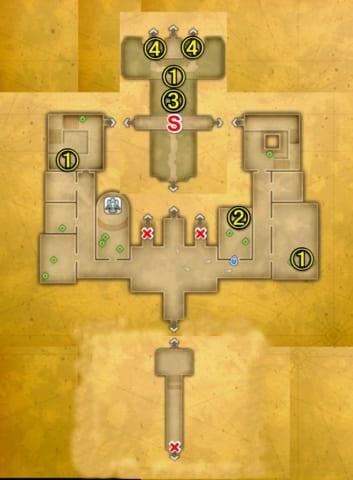 アルテナ城マップ