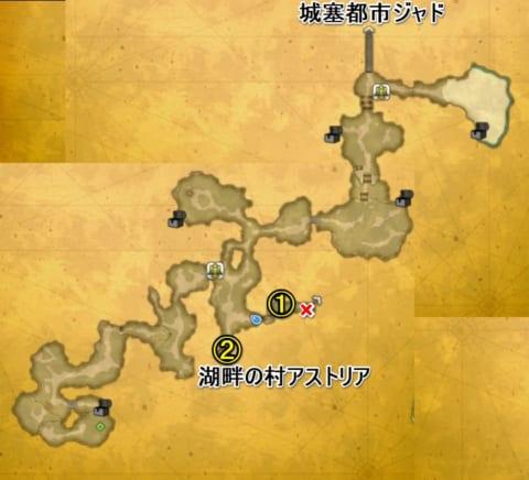 ラビの森マップ