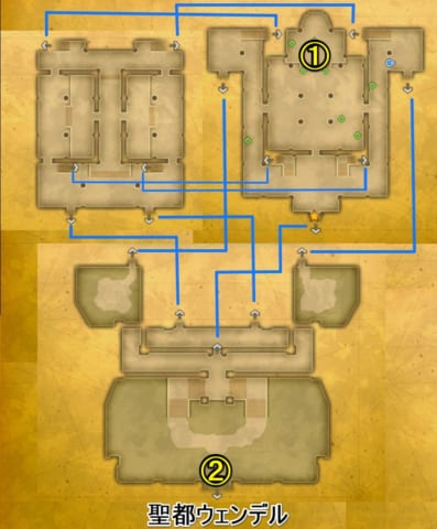 光の神殿マップ