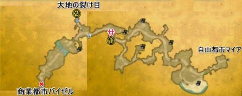 黄金の街道マップ