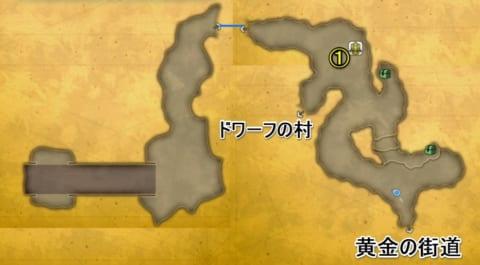 大地の裂け目2回目マップ
