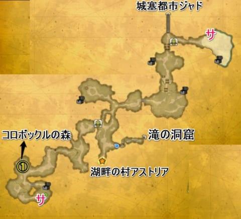 ラビの森マップ3
