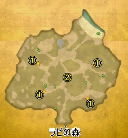 コロボックルの森マップ