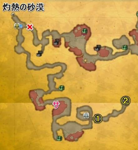 火炎の谷マップ