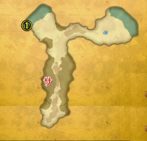 忘却の島宝箱マップ