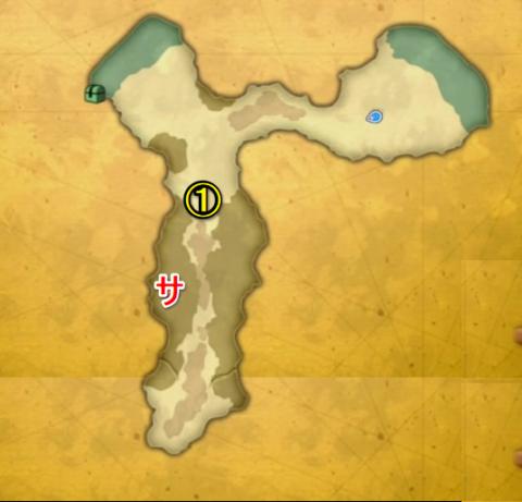忘却の島マップ