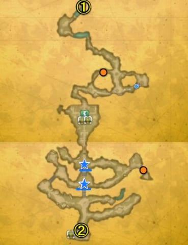 マナの聖域マップ