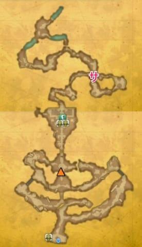 マナの聖域崩壊後宝箱マップ
