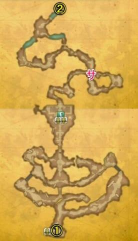 マナの聖域崩壊後マップ