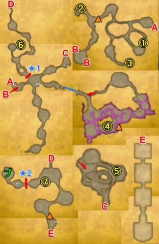 ドラゴンズホール宝箱マップ