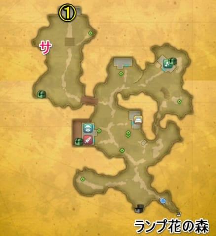 花畑の国ディオールマップ