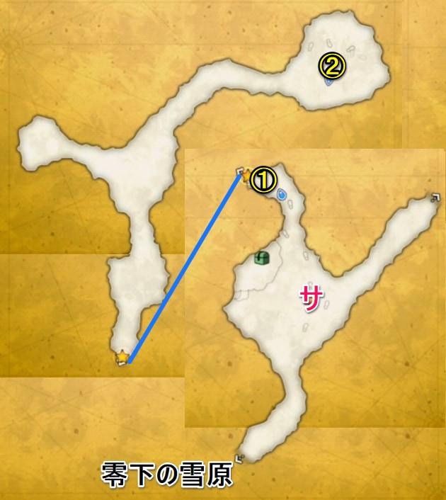 氷壁の迷宮マップ