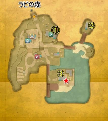 アストリア崩壊後マップ