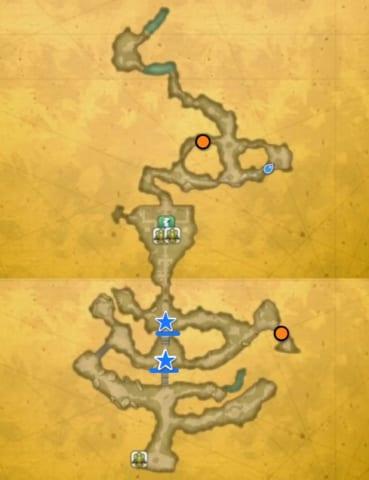 マナの聖域宝箱マップ