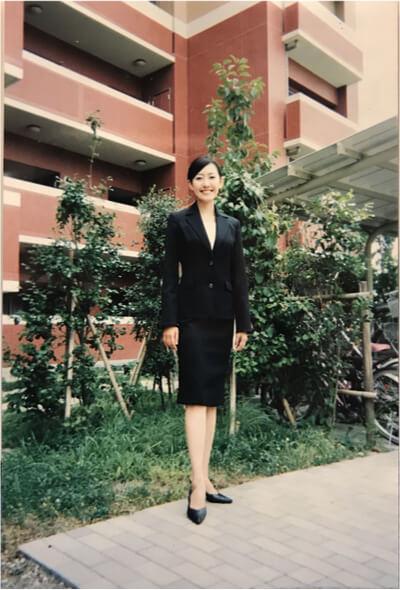 CA時代の駒崎クララさんの画像です