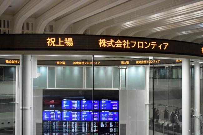 東証での画像です