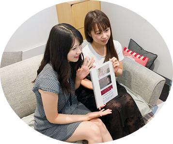 優希美月さん、栗原加奈さんの画像