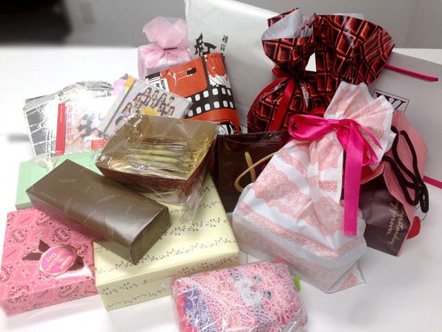 プレゼント続々到着!55バレンタイン☆
