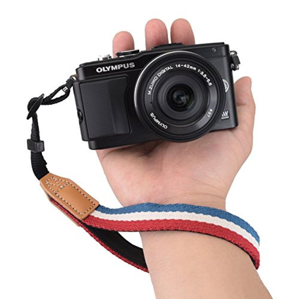 Etsumi Uni Vee Le hand strap vintage Tricolor E-6808