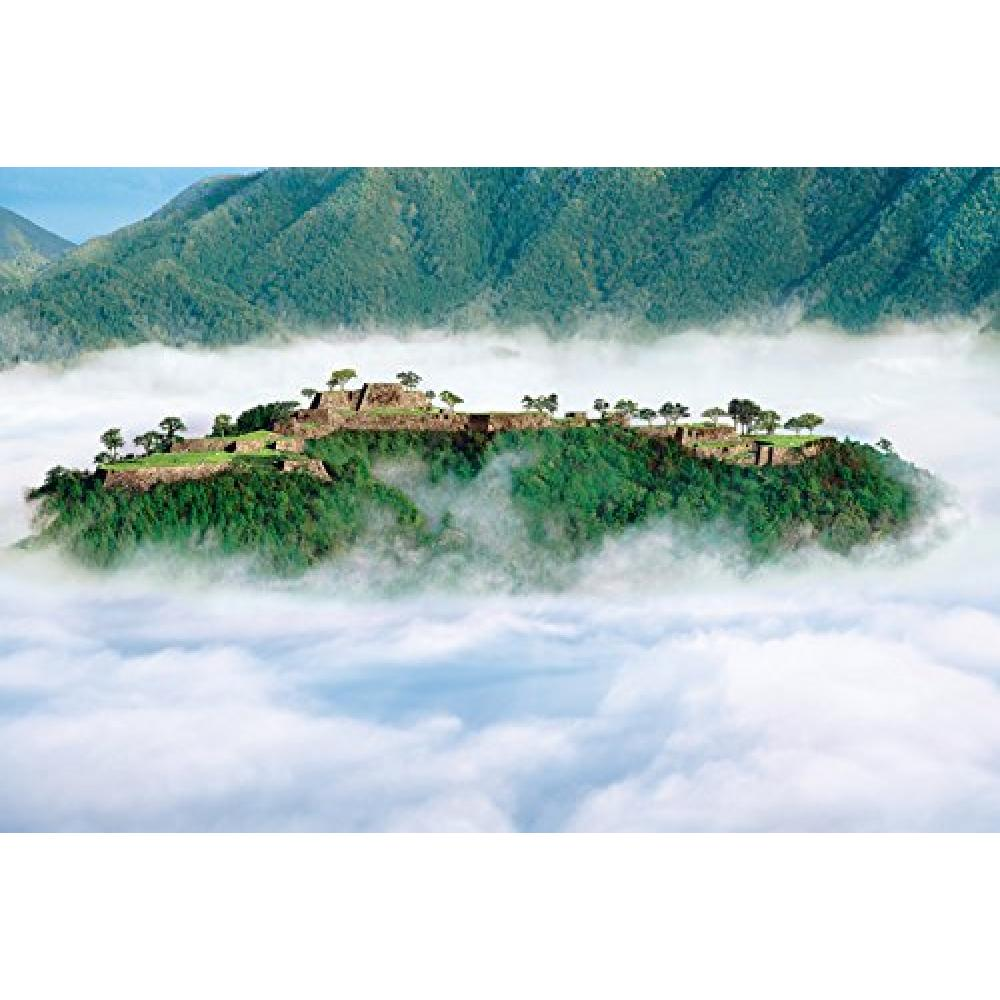 1000 Piece Jigsaw Puzzle Aim at Puzzle Master of the Sky Takeda Castle Ruins-Hyogo (50x75cm)
