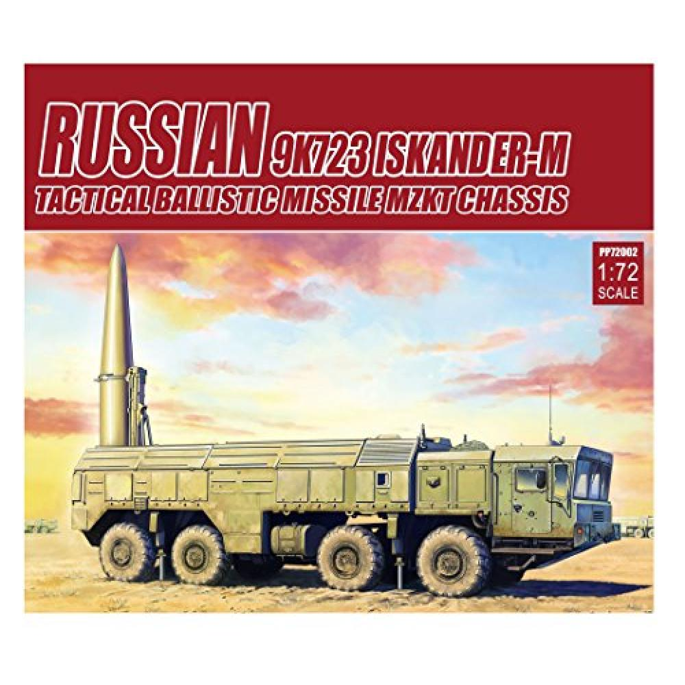 Model collect 1/72 Russian military 9K723 Isukanderu M short-range ballistic missile w / MZKT chassis plastic model painted assembly kit MODPP72002