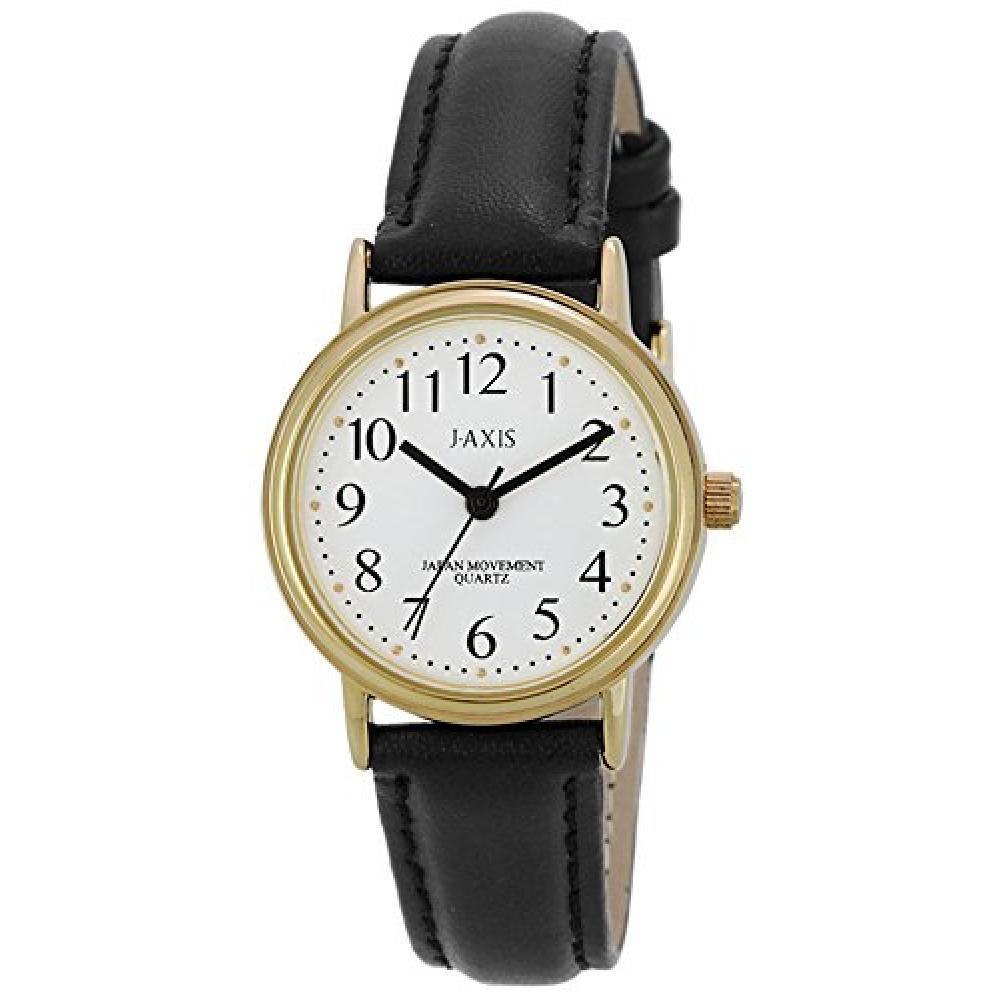 J-AXIS Ladies simple watch HL199-BKW HL199-BKW