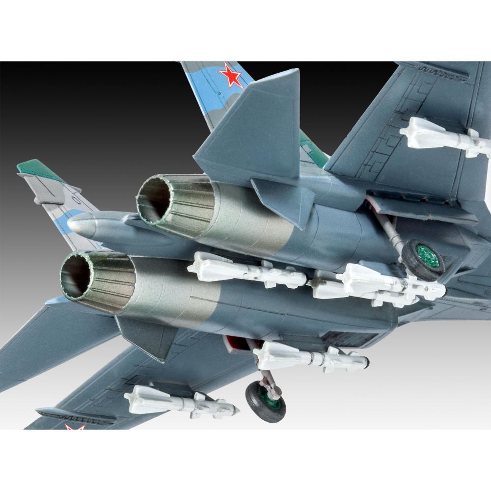 Germany level 1/144 Russian Air Force Su-27 Flanker Model Car 03948