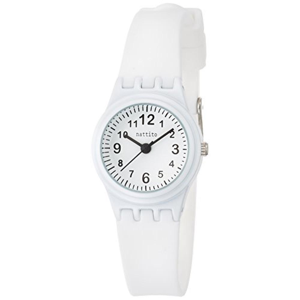 Fieldwork watch Fashion Watch nattito minilla rubber belt white ASS107-1 Ladies Watch