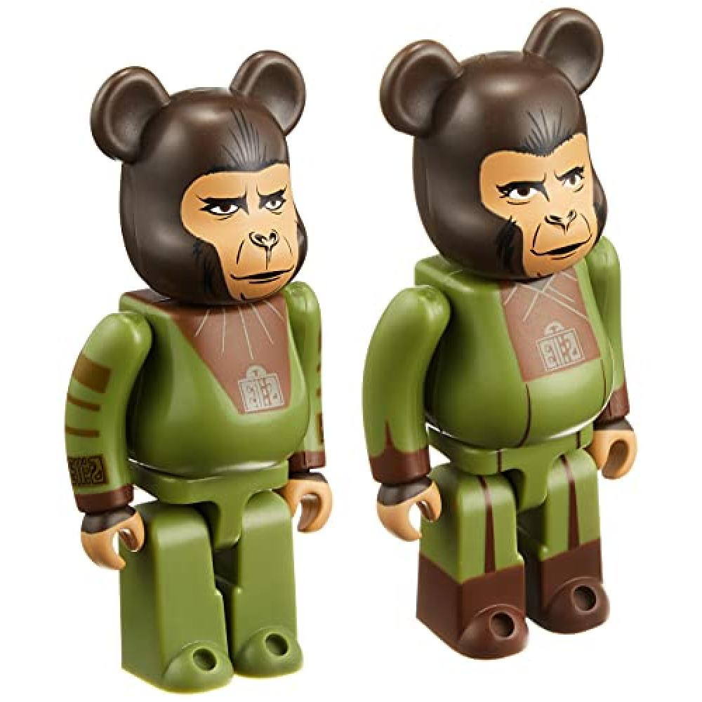 Bare brick Planet of the Apes Cornelius & Zilla 2 pack each Height approx 70mm Painted figure
