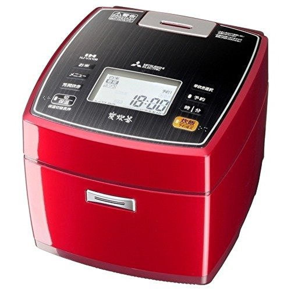 Mitsubishi Electric IH rice cookers Bincho Sumisumi 炊釜 5.5 Go cook ruby red NJ-VX106-R