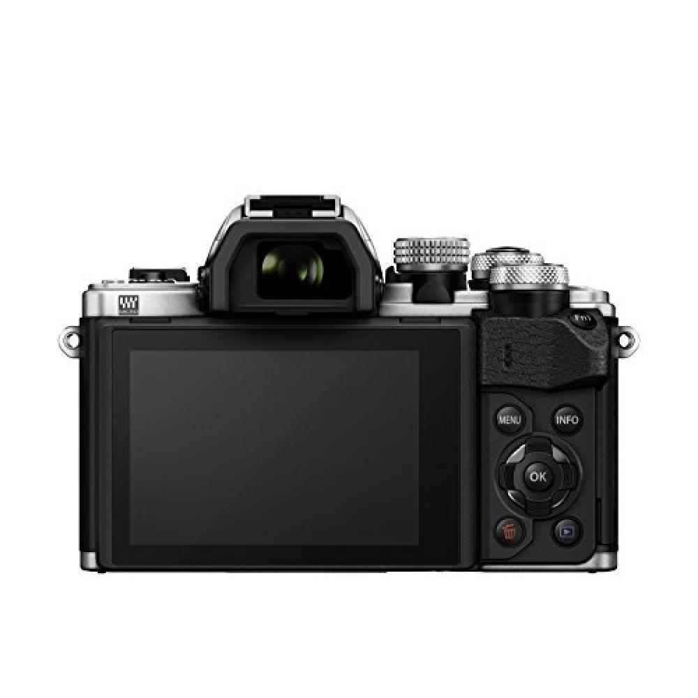 OLYMPUS mirror-less SLR OM-D E-M10 MarkII 14-42mm EZ lens kit silver