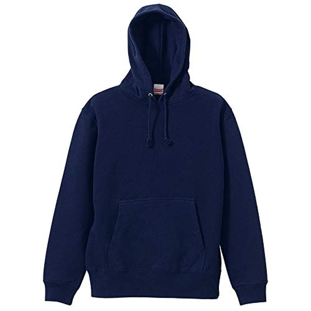 (United Athle) United Athle 10.0 oz Sweat pullover hoodie (back pile) 521401 086 navy L