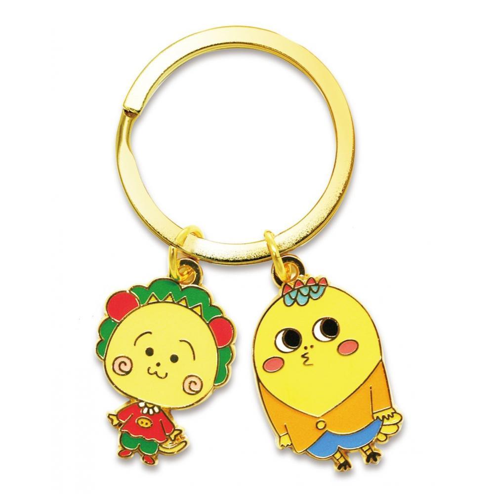Coji-Coji key ring (Coji-Coji & Jiro-kun)